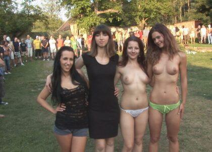 amateur outdoor porn - hot young sluts in amateur swinger porn gangbang